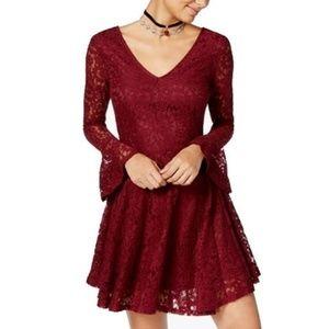 American Rag Red Tile Dress